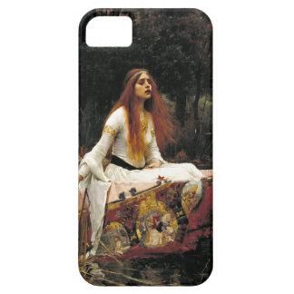 John William Waterhouse la señora Of Shalott iPhone 5 Case-Mate Cárcasa