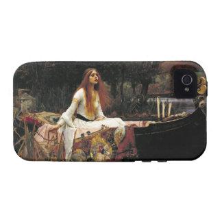 John William Waterhouse la señora Of Shalott Case-Mate iPhone 4 Carcasa
