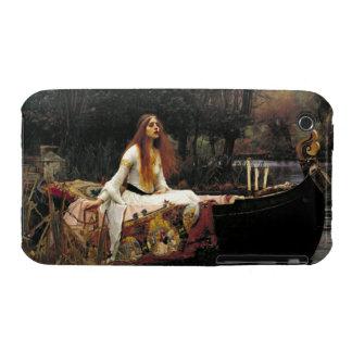 John William Waterhouse la señora Of Shalott iPhone 3 Cárcasas