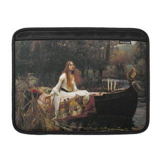 John William Waterhouse la señora Of Shalott Funda Para Macbook Air