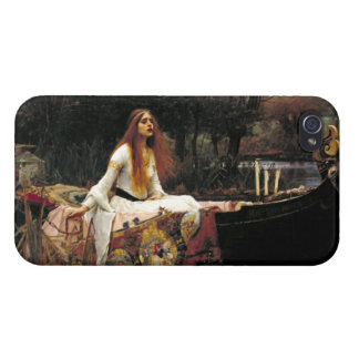 John William Waterhouse la señora Of Shalott iPhone 4/4S Carcasas