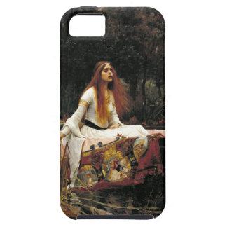 John William Waterhouse la señora Of Shalott iPhone 5 Fundas