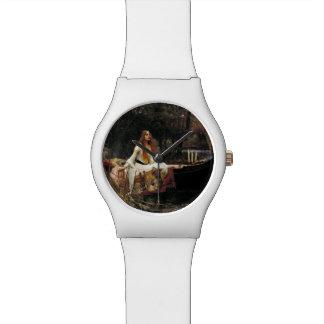 John William Waterhouse la señora Of Shalott Reloj De Mano