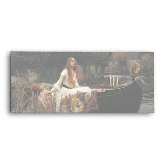John William Waterhouse la señora Of Shalott Sobres