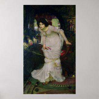 John William Waterhouse - Lady of Shallot Posters