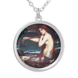 John William Waterhouse Mermaid Necklace
