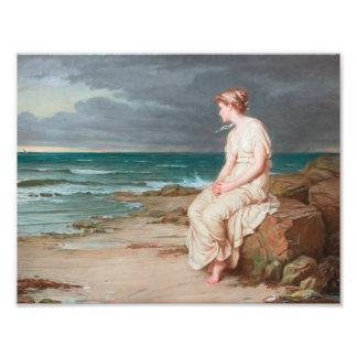 John William Waterhouse - Miranda Photo Print