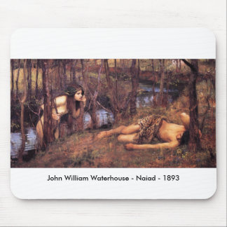 John William Waterhouse - Naiad Mousepads