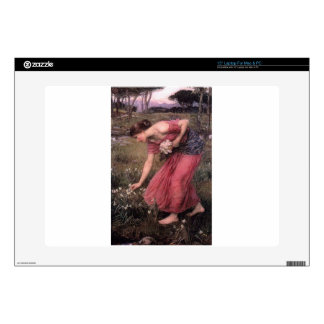 "John William Waterhouse - Narcissus - Fine Art Decals For 15"" Laptops"