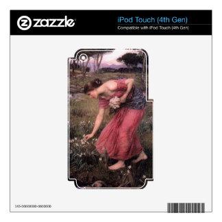 John William Waterhouse - Narcissus - Fine Art Skin For iPod Touch 4G