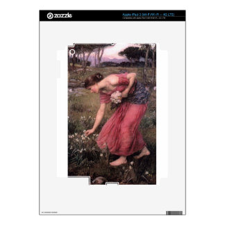 John William Waterhouse - Narcissus - Fine Art Skins For iPad 3