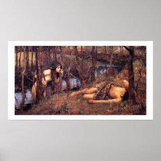 John William Waterhouse - náyade Póster