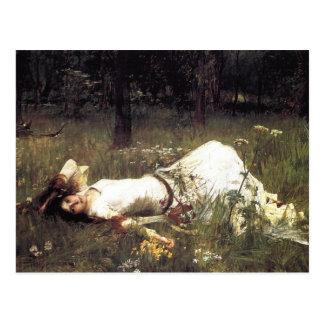 John William Waterhouse - Ofelia 1889 Postales