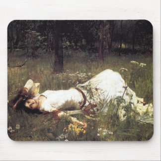 John William Waterhouse - Ophelia 1889 Mouse Pads