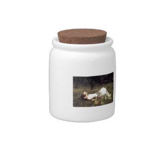 John William Waterhouse- Ophelia Candy Jar