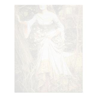 John William Waterhouse- Ophelia Custom Letterhead