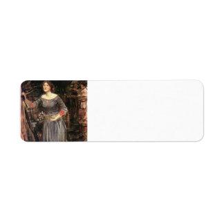 John William Waterhouse- Ophelia Label