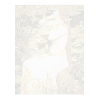 John William Waterhouse- Ophelia Letterhead
