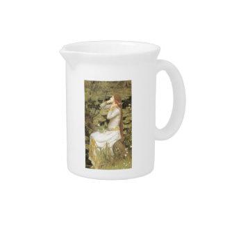 John William Waterhouse- Ophelia Beverage Pitcher