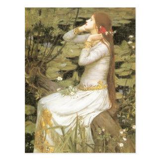 John William Waterhouse- Ophelia Postcard