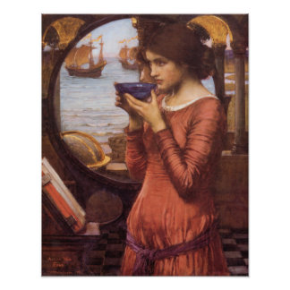 John William Waterhouse que pinta destino Fotografía