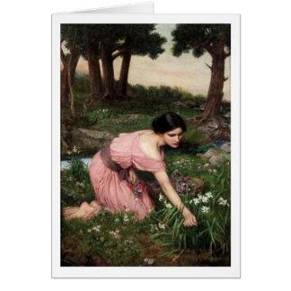 John William Waterhouse - Spring Spreads Greeting Cards