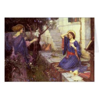 John William Waterhouse - The Annunciation Card