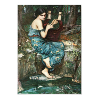 John William Waterhouse The Charmer Invitations