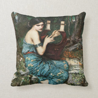 John William Waterhouse The Charmer Pillow