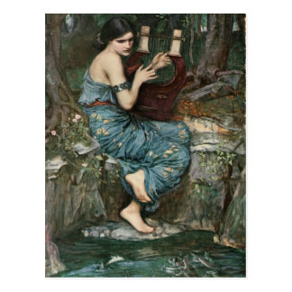 John William Waterhouse- The Charmer Postcard