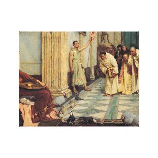 John William Waterhouse - The Favourites... Canvas Print