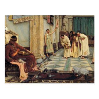 John William Waterhouse - The Favourites... Postcard