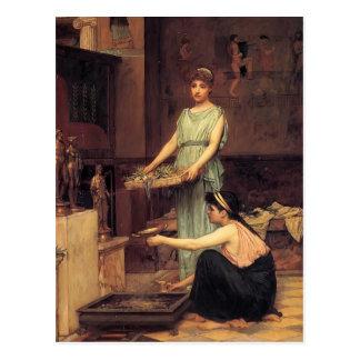 John William Waterhouse- The Household Gods Postcard