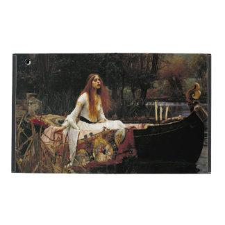 John William Waterhouse The Lady Of Shalott (1888) iPad Folio Case