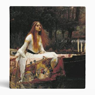 John William Waterhouse The Lady Of Shalott Binder