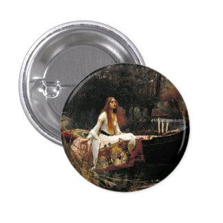 John William Waterhouse The Lady Of Shalott Button