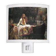 John William Waterhouse The Lady Of Shalott Night Lites