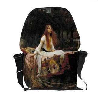 John William Waterhouse The Lady Of Shalott Courier Bag