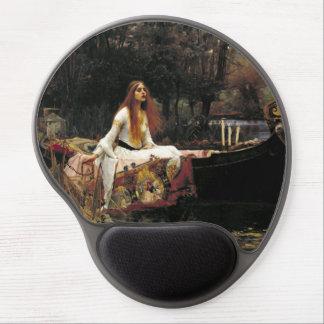 John William Waterhouse The Lady Of Shalott Gel Mousepad