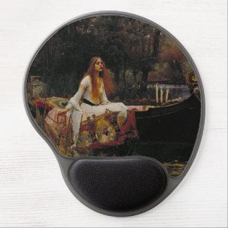 John William Waterhouse - The Lady of Shalott Gel Mouse Pads