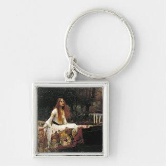 John William Waterhouse The Lady Of Shalott Key Chains