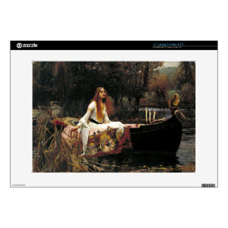 John William Waterhouse The Lady Of Shalott Laptop Decals