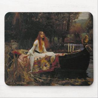 John William Waterhouse - The Lady of Shalott Mousepads