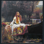 "John William Waterhouse The Lady Of Shalott Napkin<br><div class=""desc"">John William Waterhouse The Lady Of Shalott Fine Art Painting The Lady of Shalott is an 1888 oil-on-canvas painting by the English Pre-Raphaelite painter John William Waterhouse. The work is a representation of a scene from Alfred Lord Tennyson&#39;s 1832 poem of the same name, in which the poet describes the...</div>"