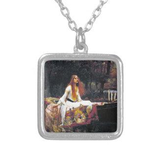 John William Waterhouse The Lady Of Shalott Custom Necklace