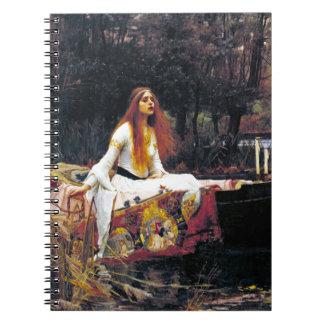 John William Waterhouse The Lady Of Shalott Notebooks