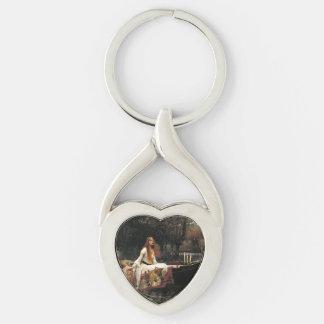 John William Waterhouse The Lady Of Shalott Keychain
