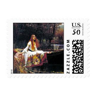 John William Waterhouse The Lady Of Shalott Postage