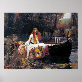John William Waterhouse The Lady Of Shalott Posters