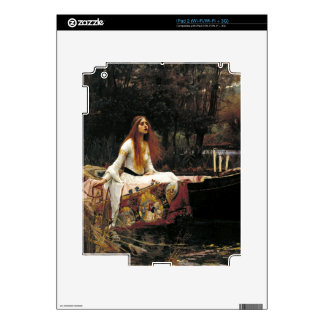 John William Waterhouse The Lady Of Shalott Decal For The iPad 2